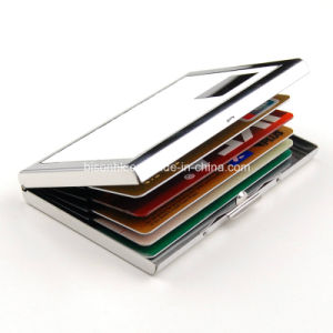 Fashion Metal Bank Card Holder, Card Case for Men pictures & photos