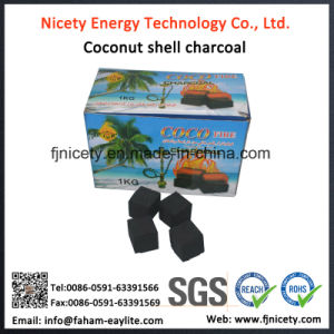 Nicety Smokeless & Odorless White Ash Coconut Shell Hookah Charcoal