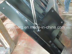 Indoor and Outdoor Customized Steel Staircase (Workmanship) pictures & photos