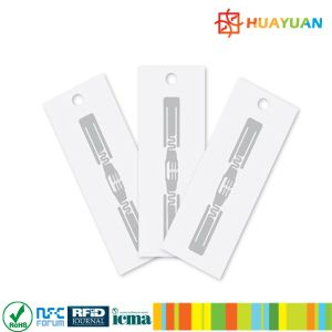 Customized designs competitive price paper UHF RFID garment labels pictures & photos