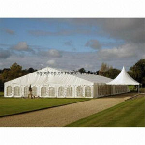 Waterproof Fabric PVC Coated Tarpaulin Cover Tent (1000dx1000d 23X23 750g) pictures & photos