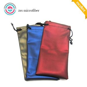 Microfiber Cleaning Pouch for Phone and Sunglasses pictures & photos