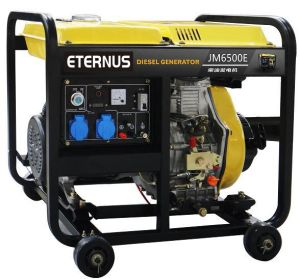 Easy Move Diesel Portable Generator (BM6500XE) pictures & photos