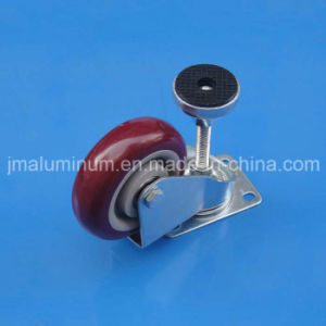 Industrial Height Adjustable Caster Wheel of Aluminum Profile pictures & photos