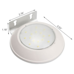 Outdoor Lighting 16 LED Wireless Solar Powered Lamp Microwave Radar Motion Sensor Light for Patio, Deck, Yard, Garden, Outside Wall with 2 Modes pictures & photos