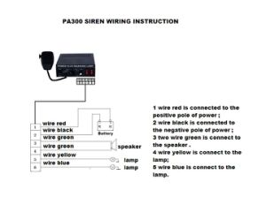 High Power Emergency Electronic Siren Amplifier (PA300) pictures & photos