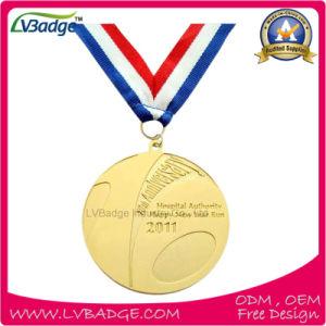 Souvenir Gift Custom Gold Sport Award Gold Medal pictures & photos
