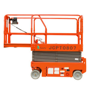 Hot Sales 1300kg 6m Mobile Electric Hydraulic Scissor Lift with Ce