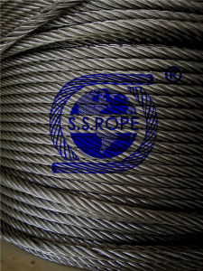 Stainless Steel Wire Rope Small Cord 7X7-1.8mm pictures & photos