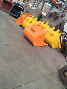 Construction Spare Parts of Excavator Standard Bucket to Fit for Ms10 Quick Hitch pictures & photos