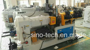 High Capacity PVC Conical Twin Screw Plastic Extruder for Pipe Profile Extrusion Production Machine Line pictures & photos