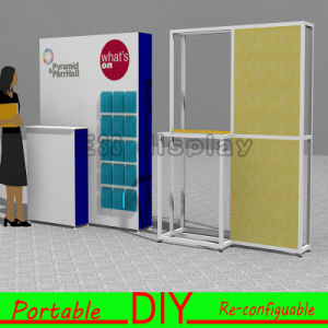 DIY Aluminum Customized Modular Exhibition Booth Stand Display Booth pictures & photos
