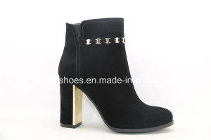 New Arrival European Design Leather Ladies Women Boots pictures & photos