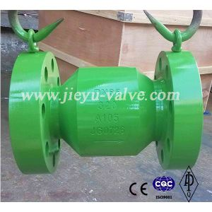 High Quality Flanged Axial Flow Nozzle DIN Check Valve pictures & photos