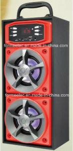 2.0CH Wooden USB SD Speaker 3W*2 Bg316c Portable Speaker pictures & photos