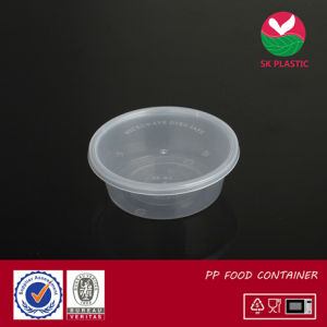 Round Plastic Food Container (sk-10 with lid) pictures & photos