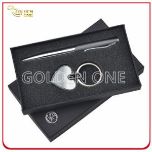 High Quality Keychain and Metal Pen Promotional Gift Set pictures & photos