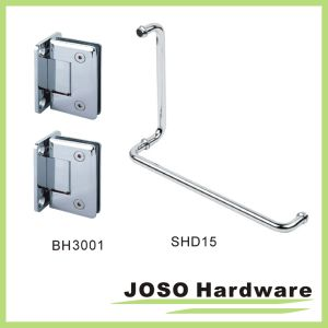 90 Degree Brass Wall Mount Shower Hinge Bh3001 pictures & photos