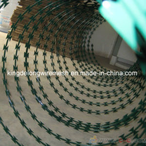 China Supplier Galvanized Razor Barbed Wire High Quality (KDL-21) pictures & photos