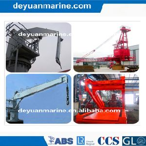 Deck Crane for Deck Machinery pictures & photos