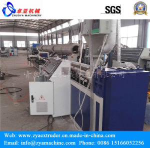 PE Single Wall Corrugated Pipe Extrusion Line/Production Line pictures & photos
