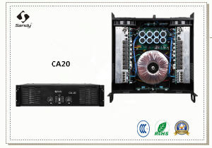 Competitive Price for Audio Power Amplifier Ca Series, DJ Equipment pictures & photos