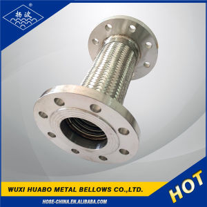 High Pressure High Temperature Flange Metal Hose pictures & photos