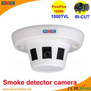 CMOS 1000tvl Smoke Detector Dusguised Hidden Miniature Camera pictures & photos