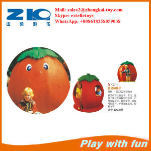 Playground Outdoor Tomatoes Plastic House for Kids pictures & photos