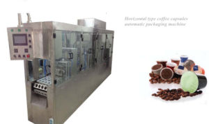 Capsules Coffee Packaging Machine Type Horizonal