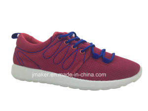 2015 Cheap Style Women Running Shoes with PVC Injection (X177-L)