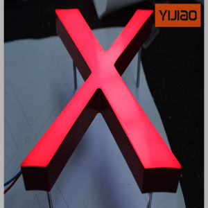 CE Approved Acrylic Mini LED Channel Letters Sign for Outdoor pictures & photos