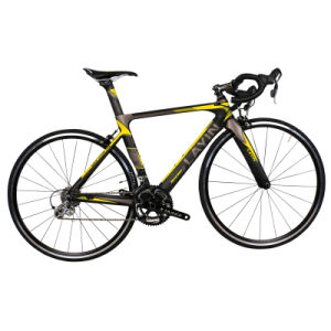 High-Quality Carbon Fiber 20-Speed Road Racing Bike with Maxxis Tires pictures & photos