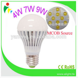 Mcob LED Bulbs 7W Hollow out Designed 3000k-6400k