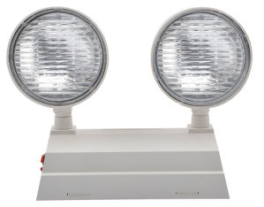 UL Listed Adjustable Twin Spot Halogen Bulb Emergency Light pictures & photos