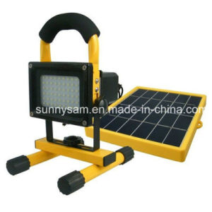 Energy Saving Panel Solar Work Lamp Alloy Solar Light pictures & photos