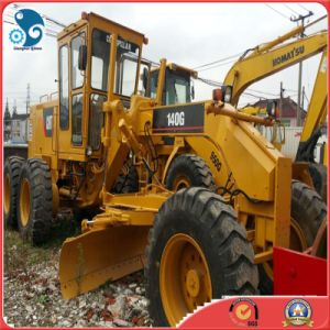 USA_Brand Cat_3306_Engine Attach_Ripper Used Caterpillar Motor Grader 140g pictures & photos