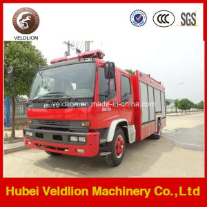 Isuzu 4X2 Fire Fighting Trucks with 8, 000 Litres Water Tank pictures & photos
