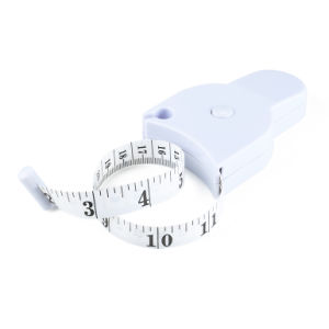 Logo Design Waist Measurement Mini Body Retractable Tape Measure pictures & photos