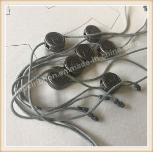 Garment Brand Pin Lock String (ST012) pictures & photos