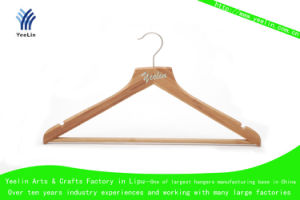 Clothing Bamboo Hangers for Retailer (YLBM6712H-NTLN1) pictures & photos