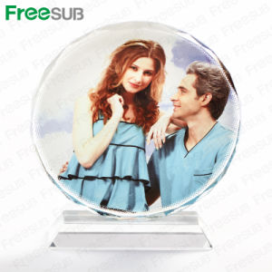 Freesub Cheap Price Sublimation Crystal Photo Frame (BSJ-03A) pictures & photos