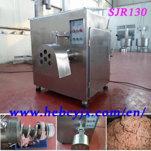 Frozen Meat Mincer Sjr 130 380V CE pictures & photos