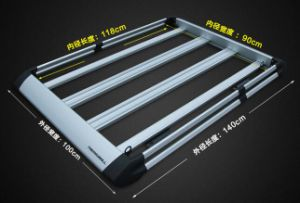 Treasurall Auto Accessories Aluminum Car Roof Rack Lugguage Cargo Basket Roof Tray