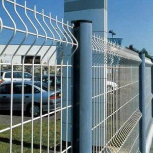 PVC Coated Curve Wire Mesh Fencing with ISO9001: 2008 pictures & photos