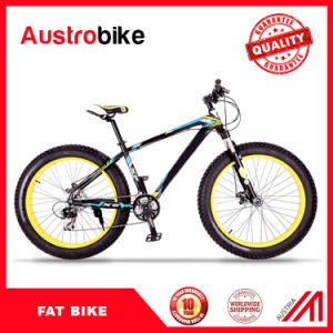 New Design Hot Selling Fat Tyre Mountain Bike Bicycle, 26 Inch Snow Bike Fat Bike Tire, Fat Tyre Fat Bike Carbon Frame pictures & photos