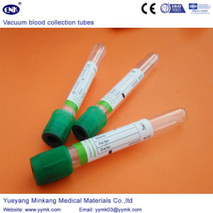 Vacuum Blood Collection Tubes Heparin Tube (ENK-CXG-027) pictures & photos