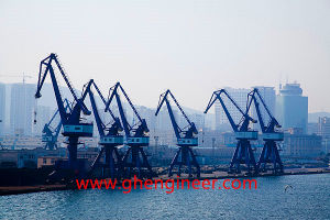 Gantry Crane with Rope Grab for Bulk Cargo pictures & photos