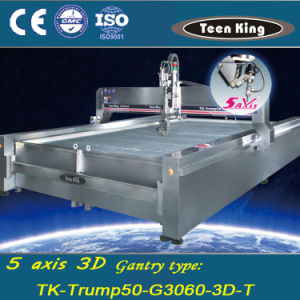 Teenking 5 Axis Tilting Waterjet Cutting Machine