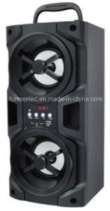 2.0CH Wooden USB SD Speaker 3W*2 Bg315 Portable Speaker pictures & photos